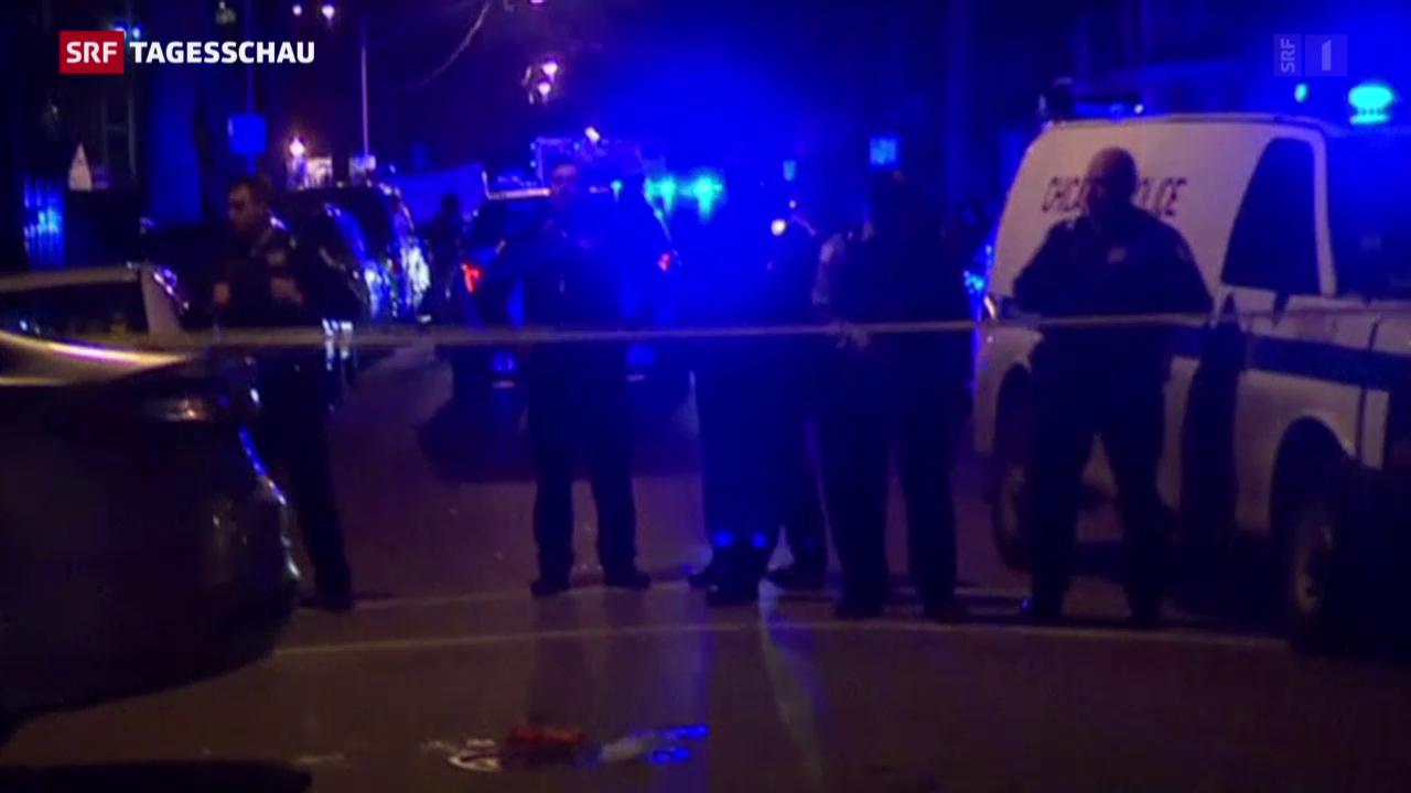 Neue Polizeigewalt in Chicago