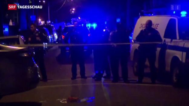 Video «Neue Polizeigewalt in Chicago» abspielen