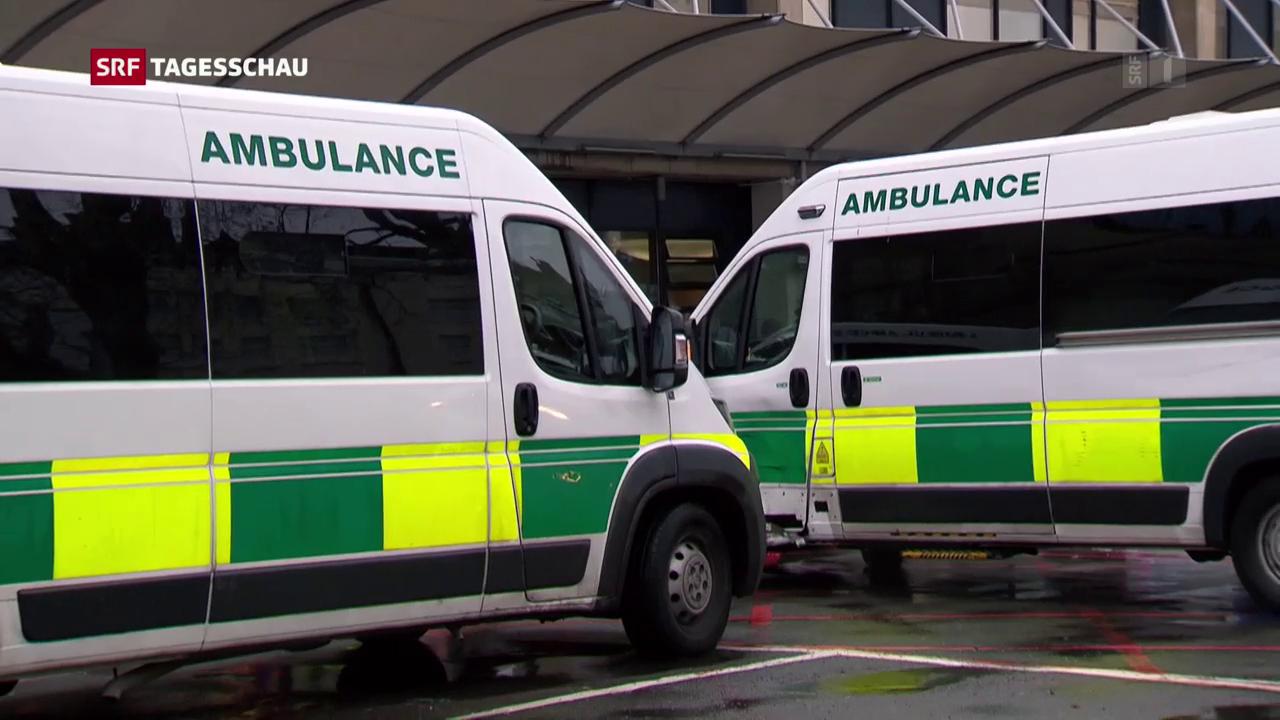Briten bangen um Gesundheitsdienst und demonstrieren