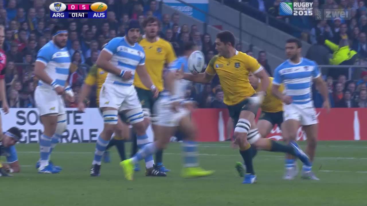 Rugby: Argentinien-Australien