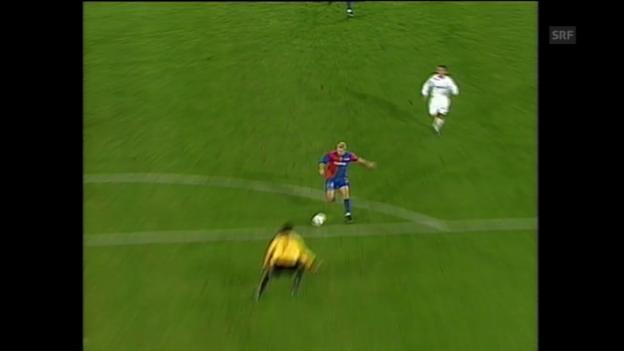 Video «Zweimal Rossi, zweimal Ergic – Basel bezwingt den FCZ 5:3» abspielen
