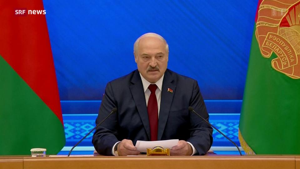 Lukaschenkos umstrittene Wiederwahl in Belarus jährt sich