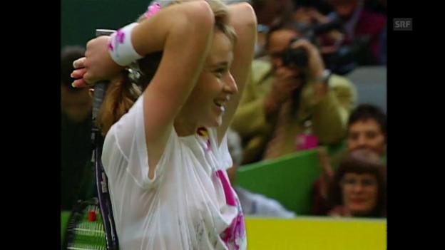 Video «Maleeva-Fragnière erste Schweizer Siegerin auf heimischem Boden» abspielen