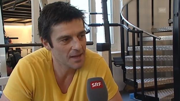 Video «Roman Kilchsperger über sein Fitnessprogramm» abspielen