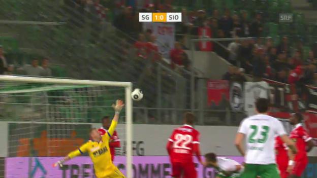 Video «Salli sei dank: St. Gallen gewinnt wieder» abspielen