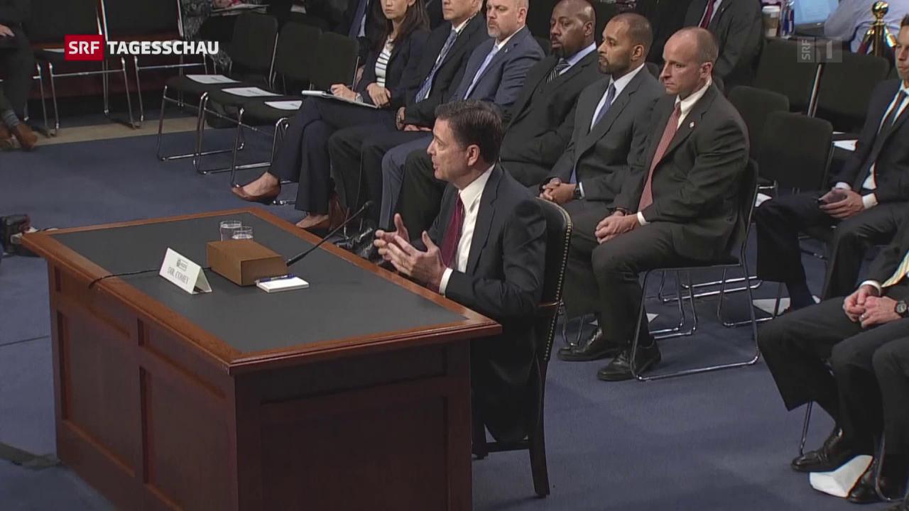 Trump nennt Comey-Anhörung einen Erfolg