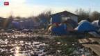 Video «Slum-Zustände in französischen Flüchtlingscamps» abspielen