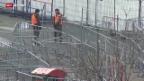 Video «Weniger Flüchtlinge auf der Balkan-Route» abspielen