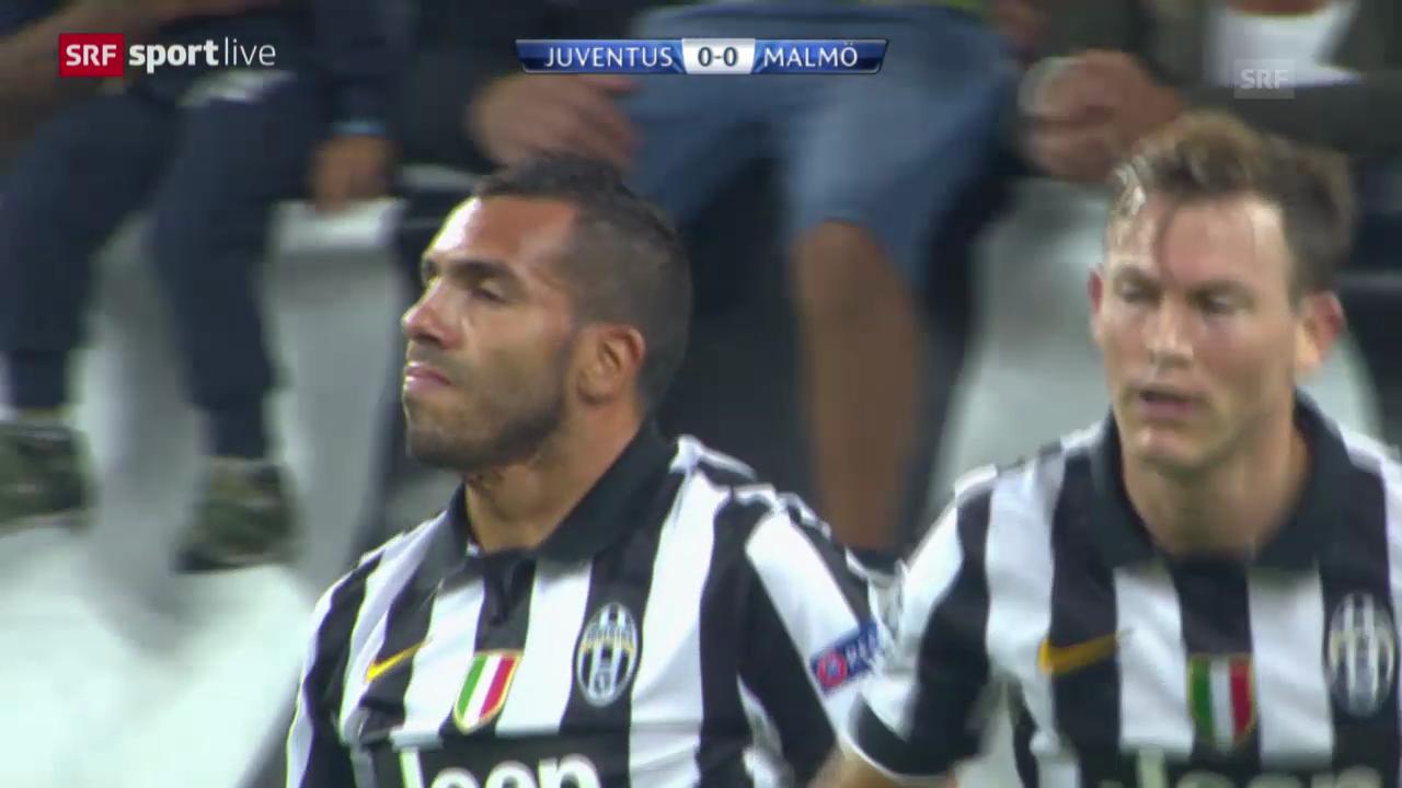 Fussball: Champions League, Juventus - Malmö