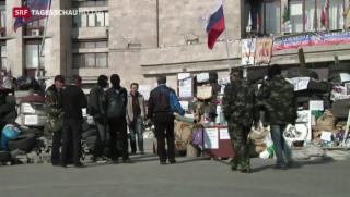 Video «Ukrainische Regierung startet Militäroffensive» abspielen