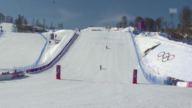 Video «Boardercross: Der Final (sotschi direkt, 16.02.2014)» abspielen