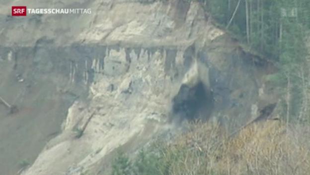 Video «Tote und Vermisste nach Erdrutsch» abspielen