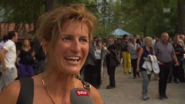 Video «Evelyne Binsack über die Schicksalsschläge» abspielen