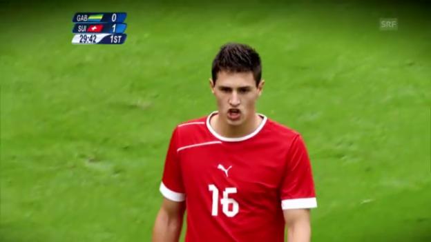 Video «Fussball: Highlights Fabian Schär» abspielen
