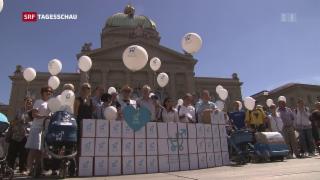 Video «Vaterschaftsurlaubs-Initiative kommt vors Volk» abspielen