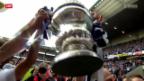 Video «Cupfinal: Spielbericht Basel - GC» abspielen