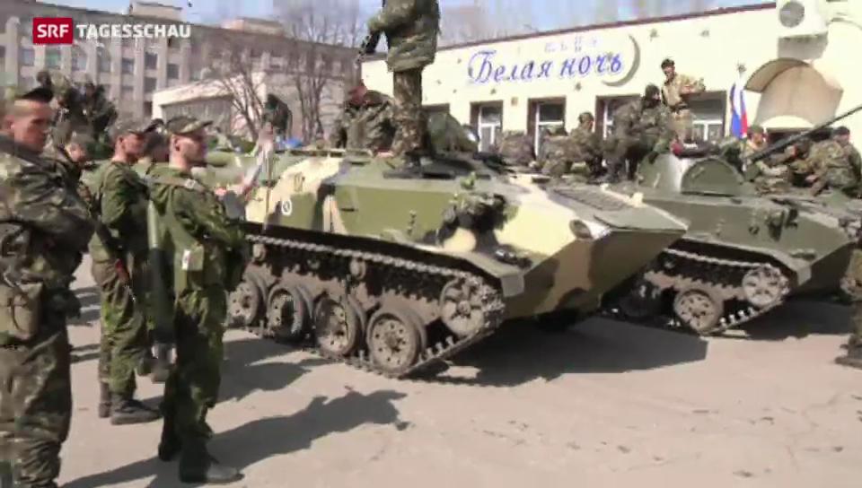 In der Ukraine spitzt sich die Lage weiter zu