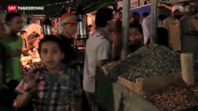 Video «Im Protest-Camp der Muslimbrüder in Kairo» abspielen