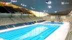 Video «Ein Blick in die olympische Schwimmhalle» abspielen
