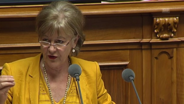 Video ««Das Parlament legt nun nicht die Hände in den Schoss.»» abspielen