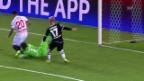 Video «Fussball: Sommers Abend in Sevilla» abspielen