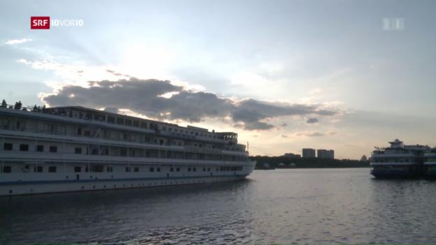 Video «Ein Drittel aller Flusskreuzfahrtschiffe unter Schweizer Flagge» abspielen