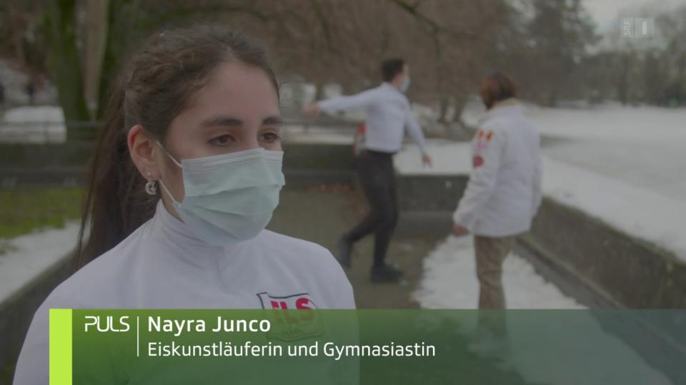 Nayra Junco: «Mir fehlt etwas wegen Corona. Das Eiskunstlaufen war für mich eine tägliche Motivation.»