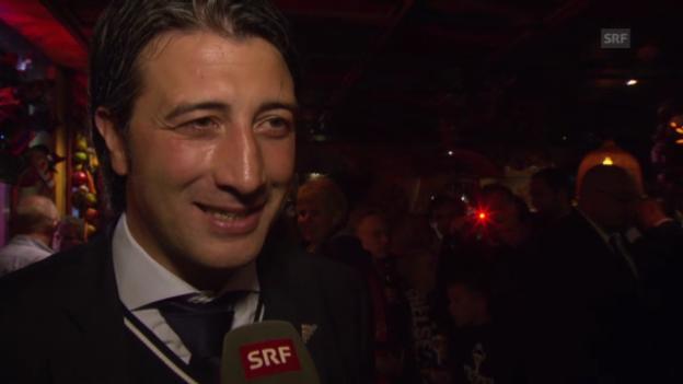 Video «Murat Yakin über die Meisterfeier» abspielen