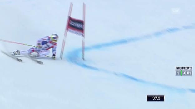Video «Ski alpin: Riesenslalom Männer Val d'Isère, 1. Lauf Alexis Pinturault («sportlive» vom 14.12.2013)» abspielen