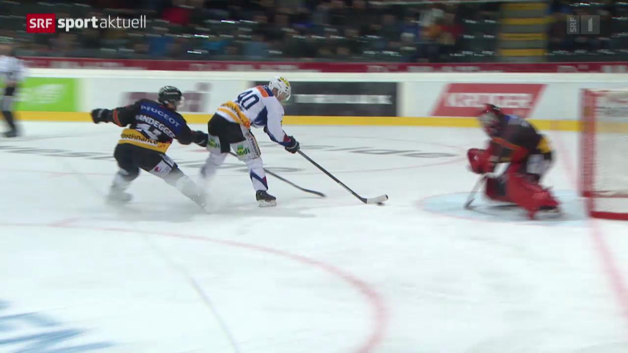 Eishockey: Bern - Biel