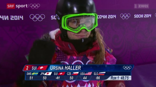 Video «Snowboard: Halfpipe-Final der Frauen» abspielen