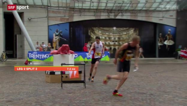 Video «OL: WM in Norditalien, gemischte Staffel» abspielen