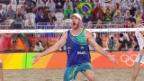 Video «Beachvolleyballer machen ganz Brasilien glücklich» abspielen