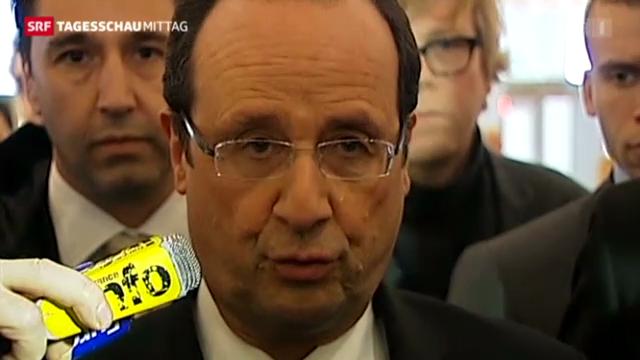 Hollande in Verlegenheit