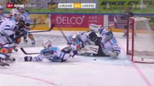 Video «Eishockey: NLA, Lugano-Lakers» abspielen