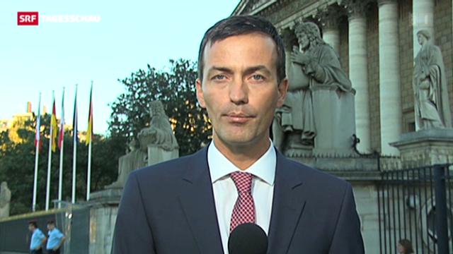 SRF-Korrespondent Michael Gerber zur Debatte in Frankreich