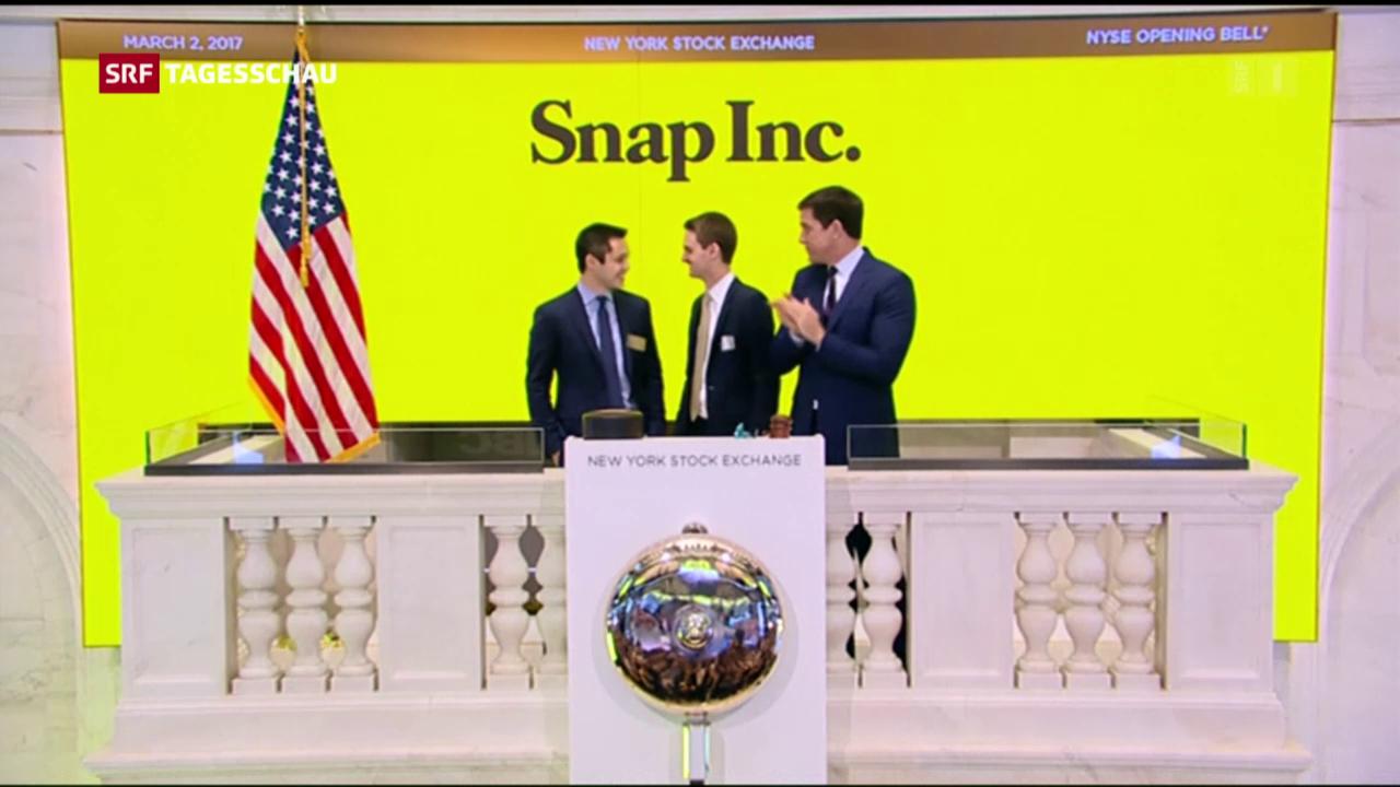 Traumstart für Snapchat an der Börse