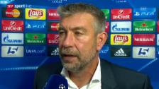 Video «Fussball: Champions League, Interview Urs Fischer» abspielen