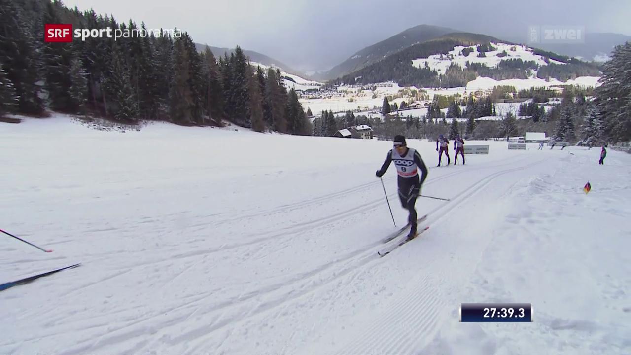 Cologna läuft in Toblach in die Top 10