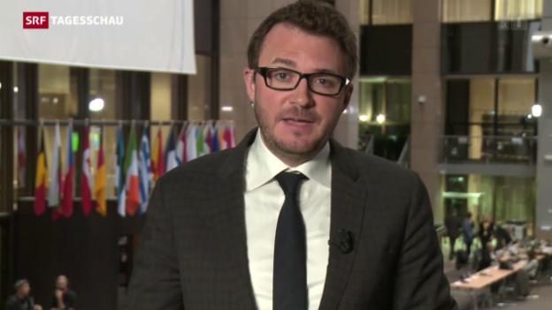 Video «SRF-Korrespondent Ramspeck: «Die EU betreibt Realpolitik»» abspielen
