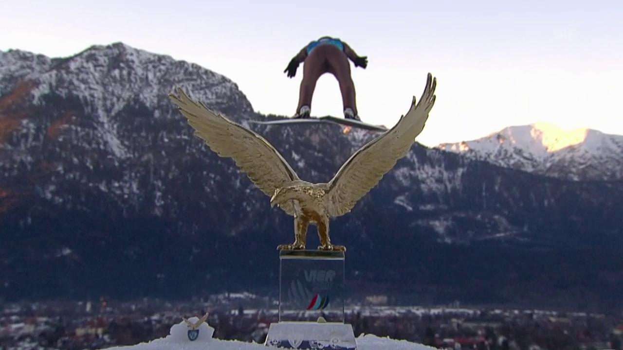 Stoch siegt auch in Garmisch vor Freitag