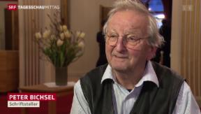Video «Peter Bichsel wird 80» abspielen