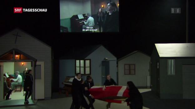 Video «Start des Zürcher Theaterspektakels» abspielen