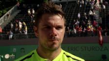 Video «Wawrinka zu seinem Genf-Triumph: «Das ist genial» (franz.)» abspielen