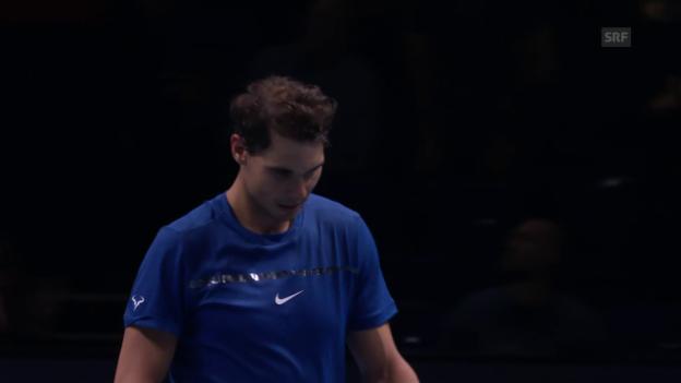 Video «Live-Highlights bei Nadal - Goffin» abspielen