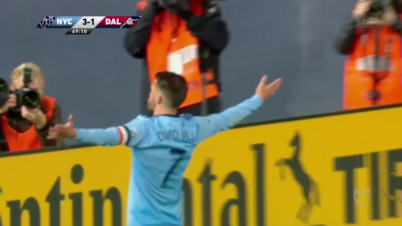 Villa erzielt seine Treffer Nummer 400 und 401
