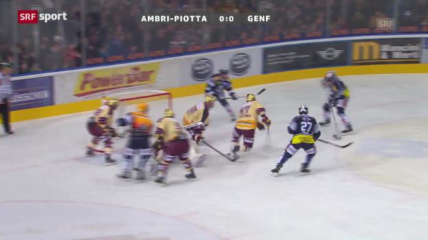 Video «Spielbericht Ambri - Genf («sportpanorama»)» abspielen