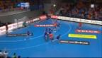 Video «Handball: Kadetten Schaffhausen - Dynamo Minsk» abspielen