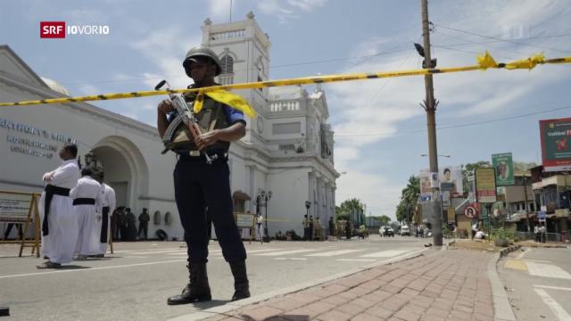 Sri Lanka Bomben