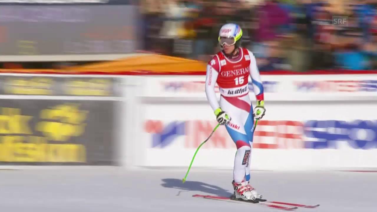 Ski alpin: Weltcup der Männer, Super-G in Kvitfjell, Carlo Janka